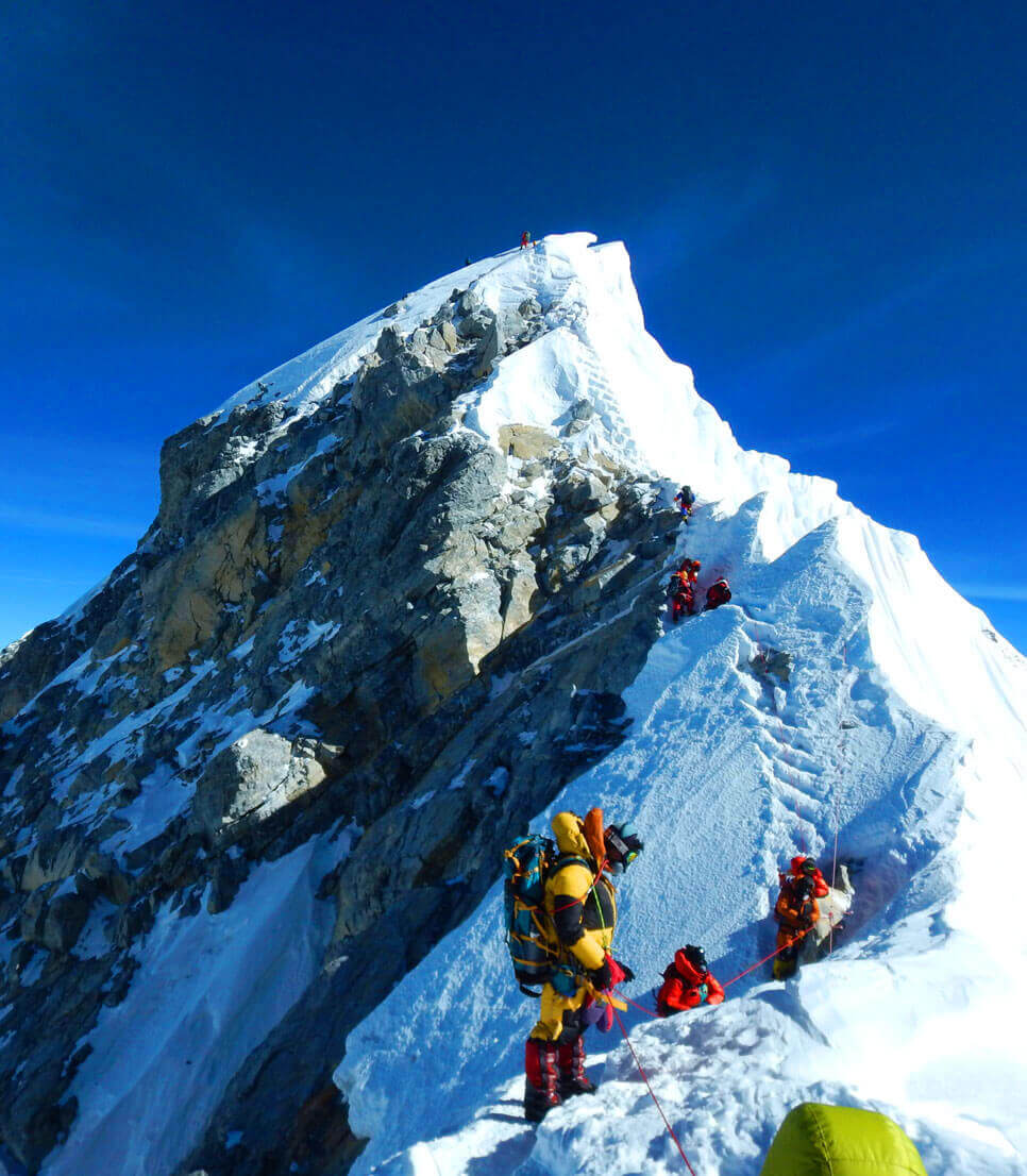 2 climbers, an American and a Swiss, have died on Mount Everest