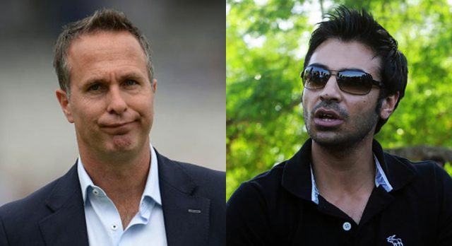 Kohli-Williamson Debate: I am not 'match fixer' , Michael Vaughan reacts to Salman Butt's comment. Pic/Cricket Pakistan Twitter .
