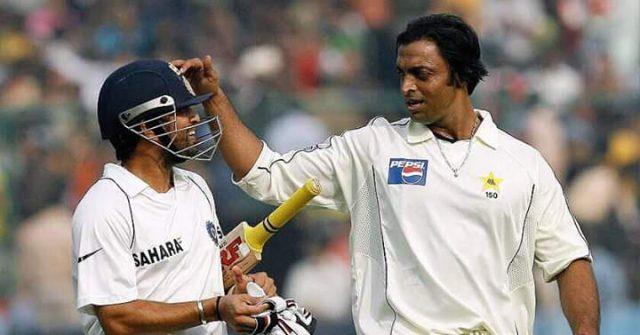 Sachin Tendulkar recalls when Shoaib Akhtar broke his ribs. Pic/Twitter