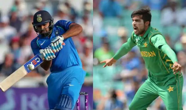 Mohammad Amir says it is easy to bowl against Rohit Sharma. Pic/Twitter