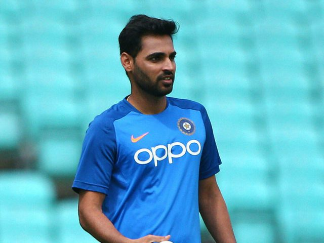 India pacer Bhuvneshwar Kumar 's father dies of Liver Cancer at 63. Pic/Twitter