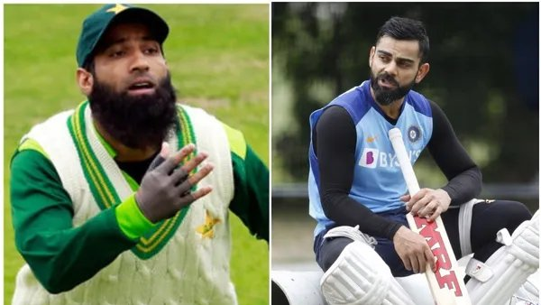 'He wants to hit every ball for six': Mohammad Yousuf wants this Pakistan youngster to learn from Virat Kohli. Pic/Twitter