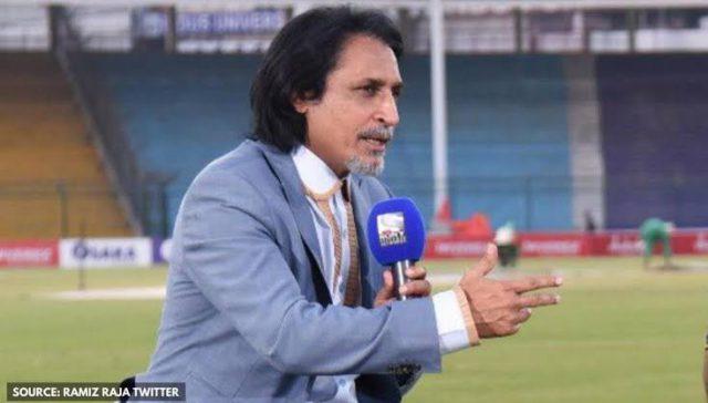 When pressure increases, call back old players, fixers into Pakistan team: Ramiz Raja. Pic/Ramiz Raja Twitter