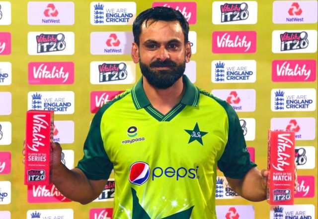 Playing for Pakistan is my first priority, says Mohammad Hafeez. Pic/Mohammad Hafeez/ Twitter