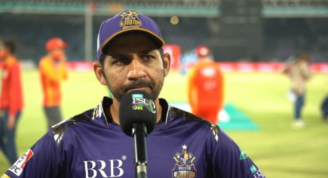 Stuck in Karachi Sarfaraz Ahmed unhappy with PCB over visa issues. Pic/PSL
