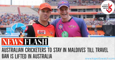 IPL: With travel-ban in place, Australian cricketers to stay in Maldives