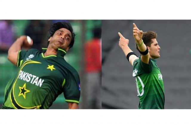 Imran Khan, Wasim Akram used to bowl more overs in nets: Shoaib Akhtar on Shaheen Afridi's workload. Pic/Twitter