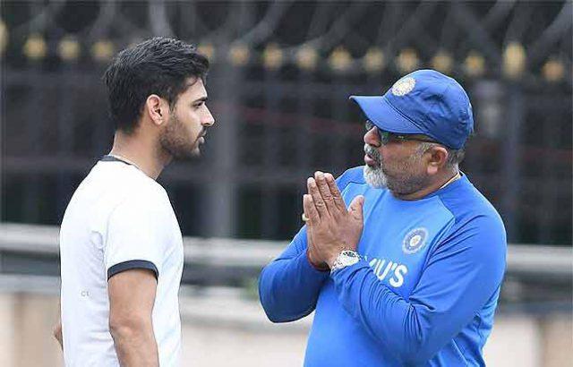Bhuvneshwar Kumar not interested in Test Cricket. Pic/TOI