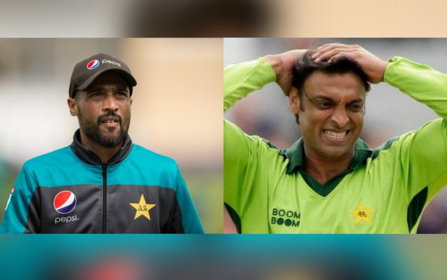 Mohammad Amir should realise 'Papa Mickey Arthur' will not always be there for him: Shoaib Akhtar. Pic/Twitter/Graphics