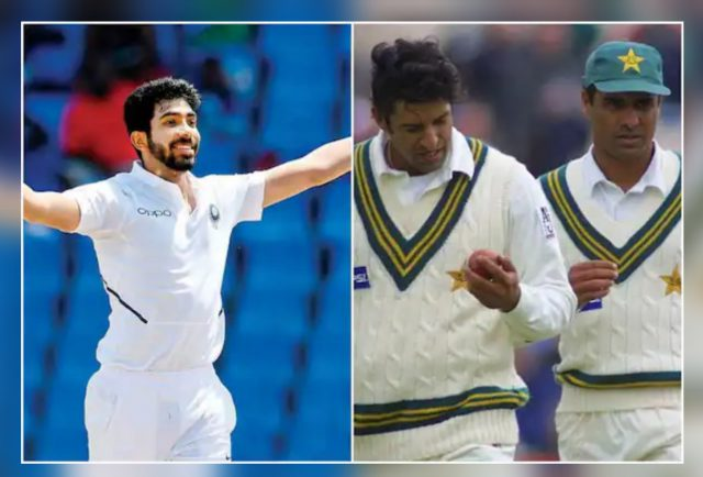 Jasprit Bumrah is to India what Wasim Akram, Waqar Younis used to be for Pakistan: Salman Butt. Pic/Twitter