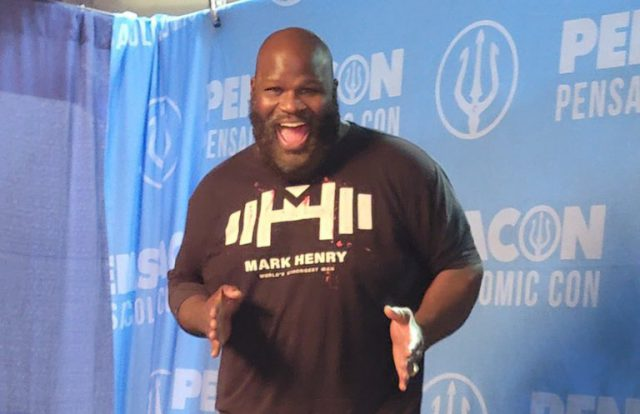 Fitness Motivation: WWE Legend Mark Henry shows off incredible weight loss transformation.  Pic/Mark Henry Twitter