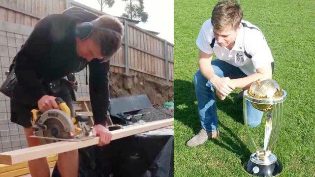 Xavier Doherty: Australia Test bowler turned Carpenter. Pic/Twitter