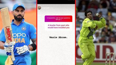 Wasim Akram would have troubled me, says Virat Kohli