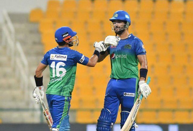 Shahnawaz, Rizwan and Sohaib star in Multan Sultans clinical win over Peshawar Zalmi. Pic/PCB