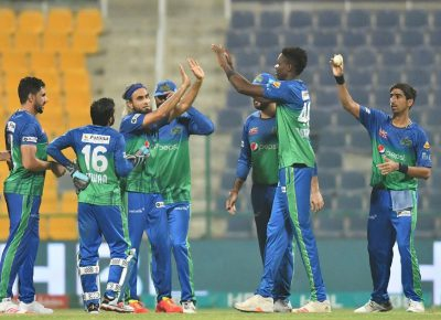 Shahnawaz, Sohaib lead Multan Sultans to comprehensive 80-run win over Lahore Qalandars