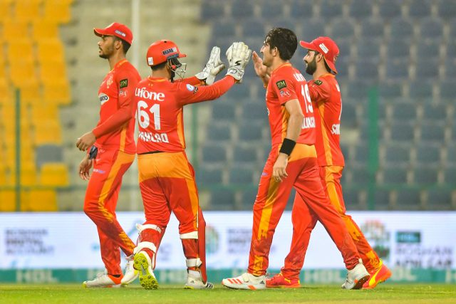 Multan Sultans slip from 93-0 to 149 all out as Islamabad United win by four wickets. Pic/PSL PCB
