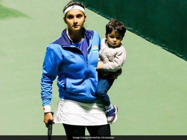 Sania Mirza thanks Kiren Rijiju for helping her son Izhaan get visa for UK tour. Pic/Sania Mirza Instagram