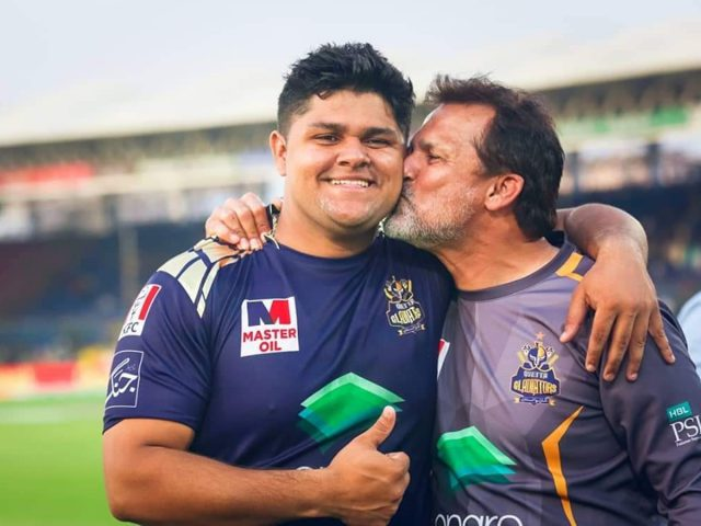 Moin Khan's son power hitter Azam Khan named in Pakistan T20 squad for England, West Indies ; Haris, Imad also return. Pic/Twitter