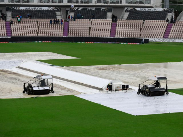 Rain washes out fourth day of ICC World Test Championship Final. Pic/ICC