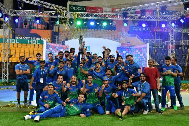 Sohaib Maqsood, Rilee Rousouw blitz seal PSL 6 title Multan Sultans. Pic/PCB