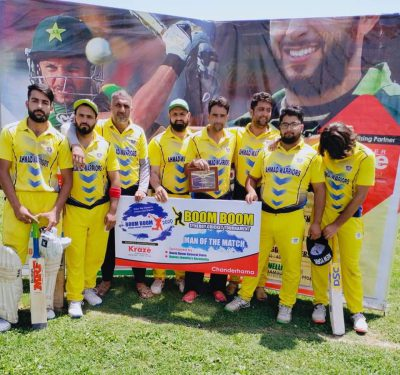 Boom Boom Tourney: Jahangir star in FCC Buchpora win over Sultan Warriors
