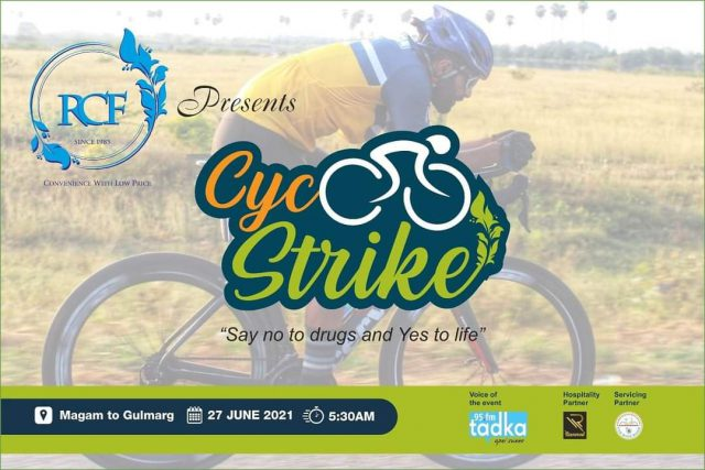 RCF CYC Strike cycling championship om June 27. Pic/Graphics