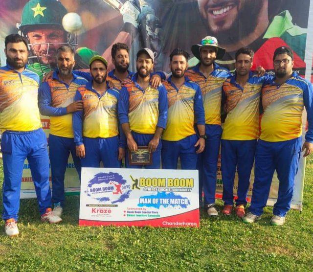 Boom Boom Tourney: FCC Buchpora beat Bhat Sports Hail. Pic/Boom Boom Tourney