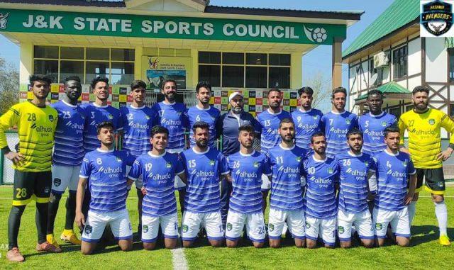 No criticism can suppress us: Kashmir Avengers FC. Pic/Kashmir Avengers FC