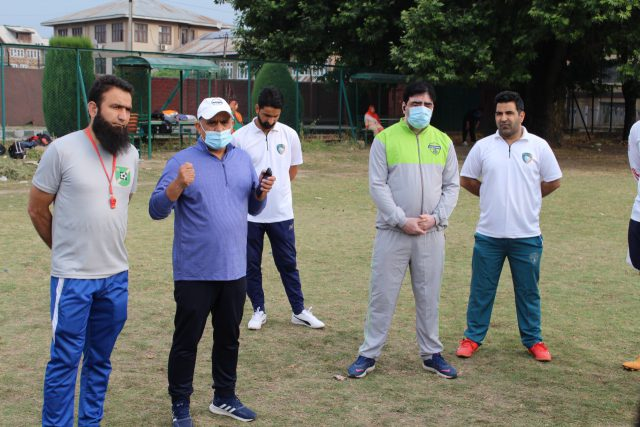 With eye on I-League, Downtown Heroes FC resume training. Pic/KSW