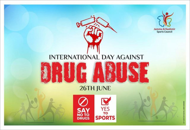 Secretary Sports Council asks youth to engage in sports activities, stay away from drugs. Pic/Graphics