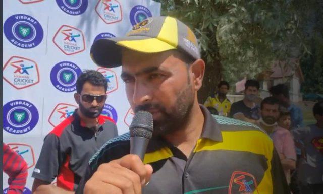 Harwan League: Gulfam Challengers crush Dar Enterprises by 74 runs. Pic/KSW