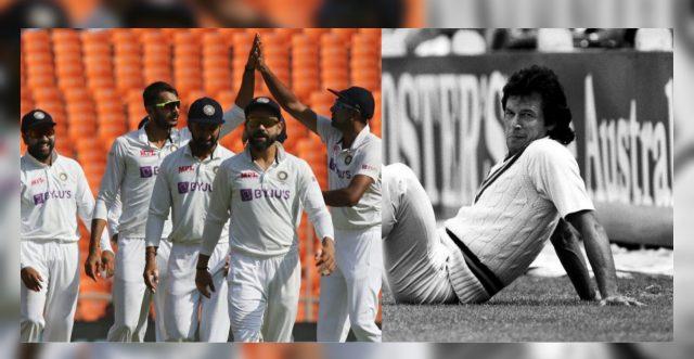 Ramiz Raja hails Team India for doing what Pakistan did under Imran Khan. Pic/Twitter/Graphics