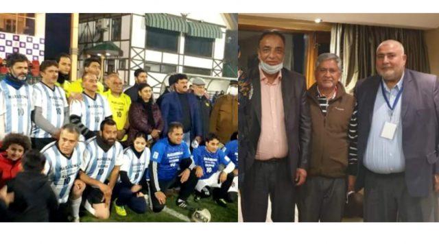 'Secret' meetings between NIFF and JKFA held. Pic/NIFF/JKFA