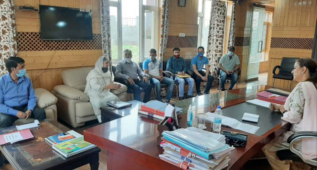 With eye on reviving sports activities, Secretary Sports Council holds series of meetings. Pic/KSW