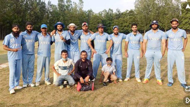 Chogul League: Nasir Lone, Arwin Singh stat in YSCC Bandipora win. Pic/KSW