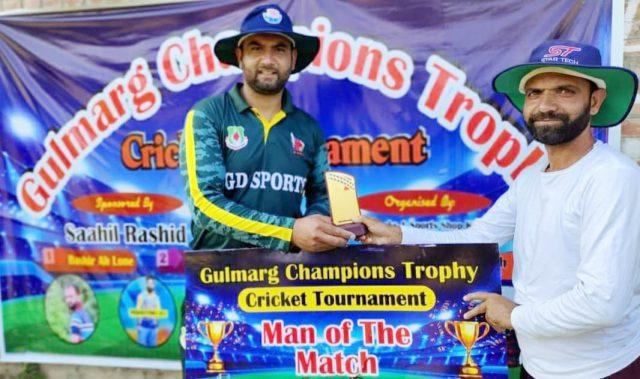 Gulmarg Trophy: All-round Abid Nabi stars as New Age Sports crush FCC Tangmarg. Pic/Facebook