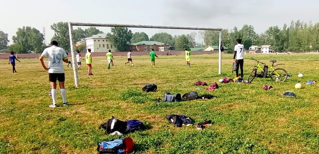 J&K Football Association issues notice for registration of clubs. Pic/KSW