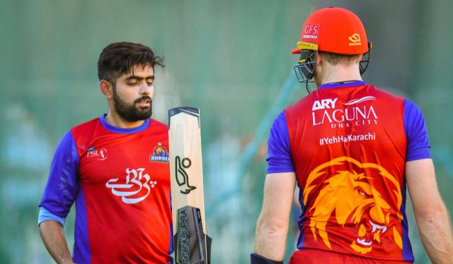 When batsman gets stuck, it is important to take singles: Babar Azam. Pic/PSL/PCB