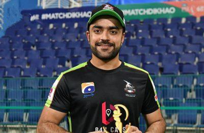 PSL2021: Rashid Khan's all-round heroics clinch last ball thriller for Lahore Qalandars