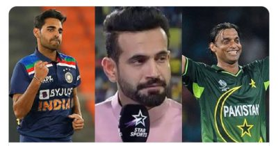 You can't go from being Bhuvneshwar Kumar to Shoaib Akhtar: Irfan Pathan to young pacers