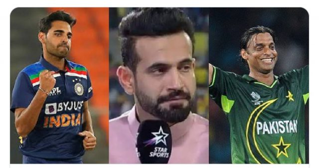 You can't go from being Bhuvneshwar Kumar to Shoaib Akhtar: Irfan Pathan to young pacers. Pic/Twitter