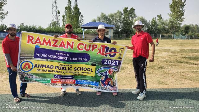 Ramzan Cup T10: Blue Star beat Sultan Warriors in super over. Pic/KSW