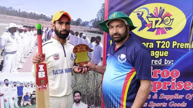 Hassanpora League: Karshangam Sports outplayed Green Star Ganderbal. Pic/KSW