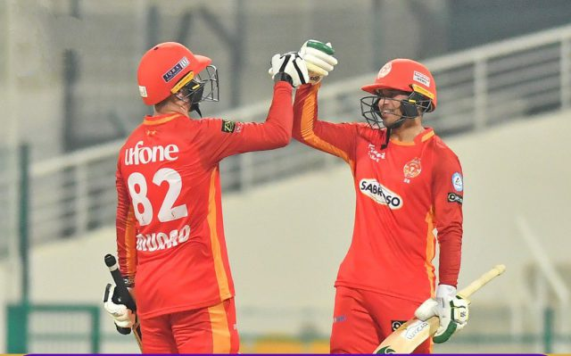 Colin Munro, Usman Khawaja guide Islamabad United to crushing 10-wicket win. Pic/PSL