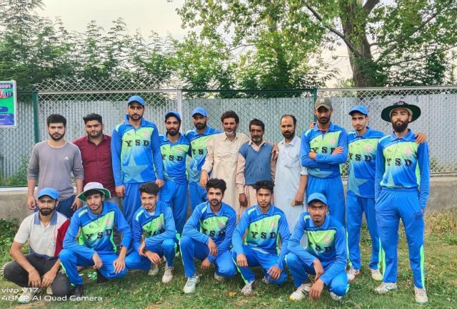Ramzan Cup T10: Young Star Delina outplay Kalampora Knights. Pic/KSW