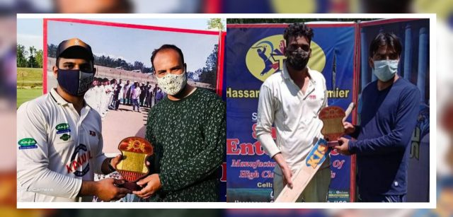 Hassanpora T20 League: Kanwal Sports, Alpha Star win matches.Pic/KSW