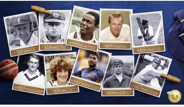 To mark WTC final, ICC announces special ICC Hall of Fame inductions. Pic/ICC
