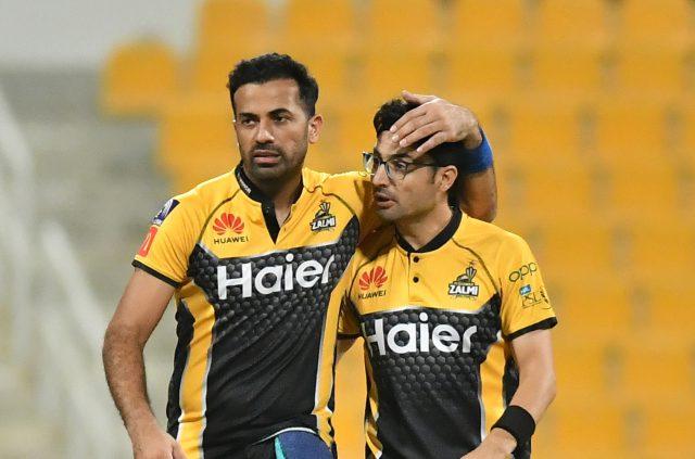 Abrar, Hazratullah, Wahab star in Peshawar Zalmi's six-wicket win.Pic/PCB