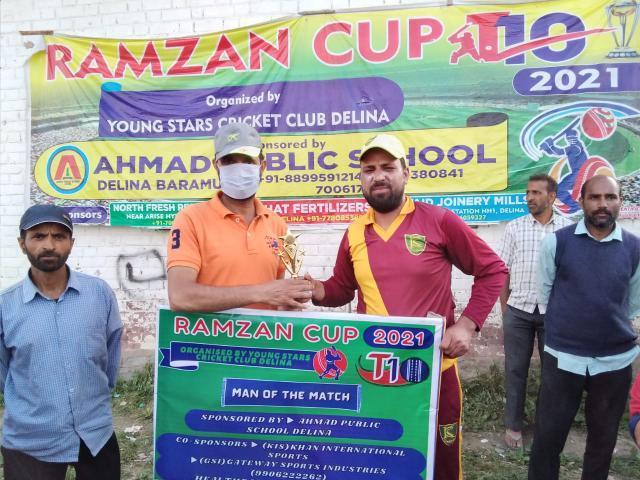 Ramzan Cup T10 : KCC Delina thrash Blue Star Delina on way to final