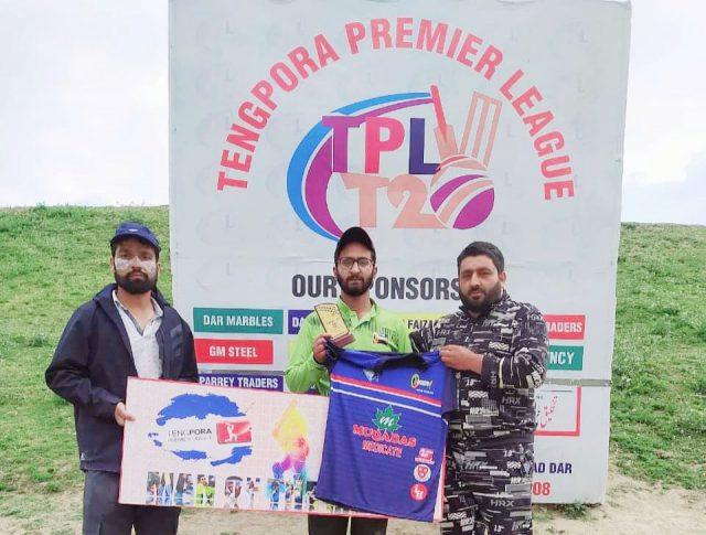 Tengpora League: Farhan stars Team Hooked Greens win. Pic/Team Hooked